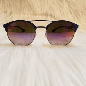 4f5312e7624d1 Ray-Ban Accessories - Ray Ban sunglasses Mirrored Violet Blue Gradient